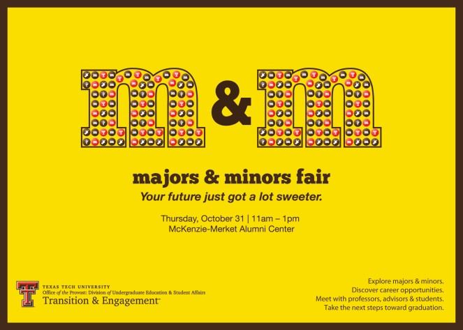 Majors and Minors Fair Card