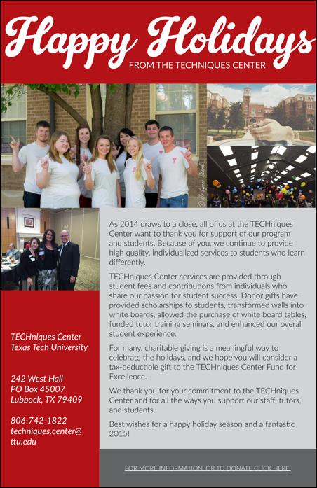 TC Holiday 2014