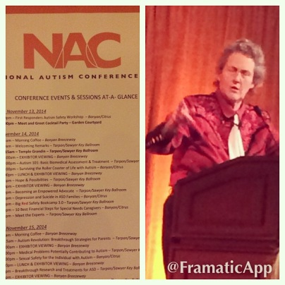 Temple Grandin Speaks at the National Autism Conference
