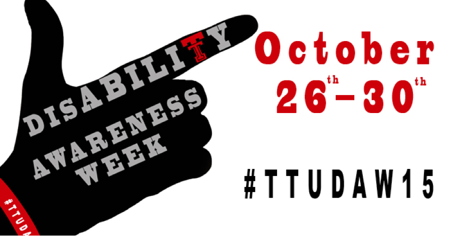 Disability Awareness Week (October 26-30)