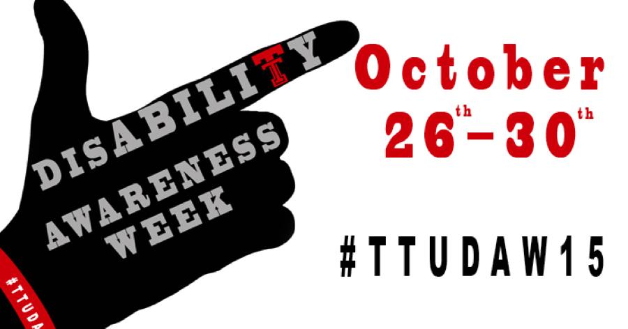 Disability Awareness Week (October 26-30)