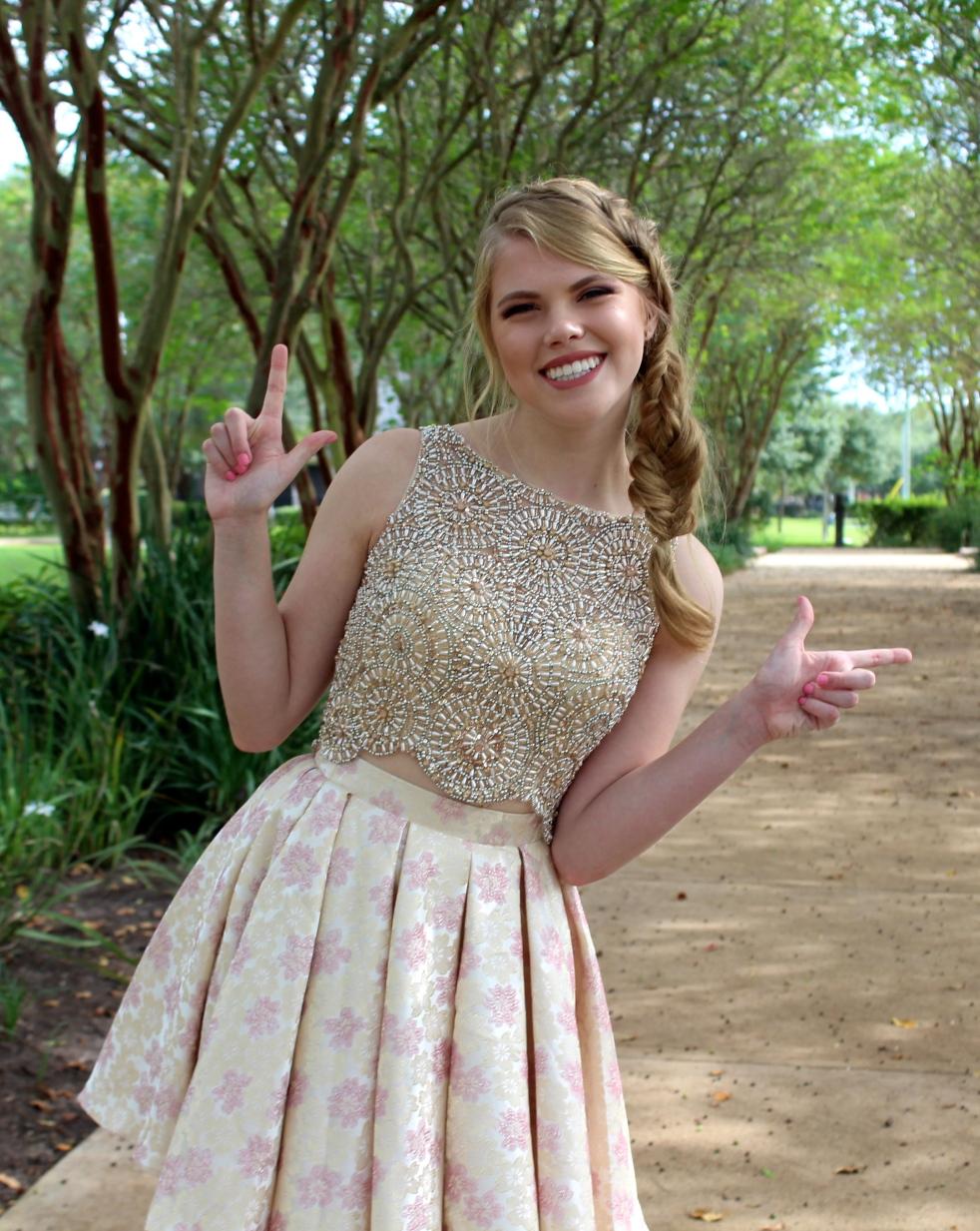 Abbie Seay, incoming Fall 2017 Texas Tech University student
